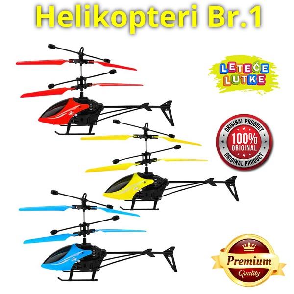 helikopter leteći