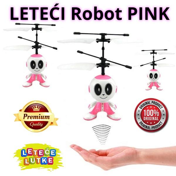 leteći robot pink